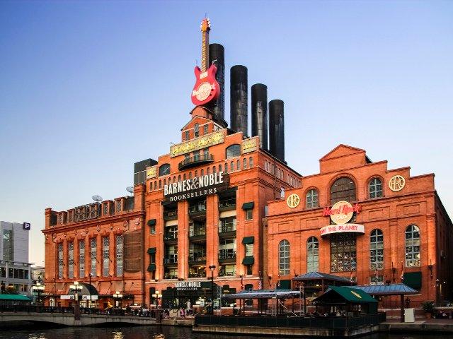 La Central de Electricidad de Baltimore transformada en centro comercial