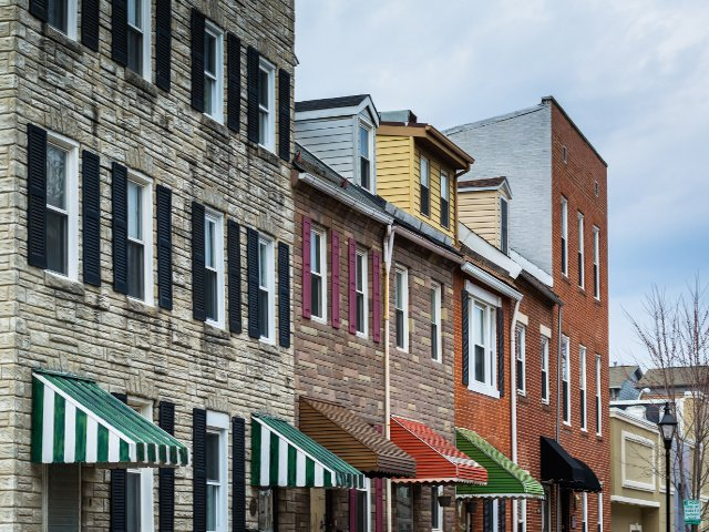 Casas del Barrio Italiano de Baltimore