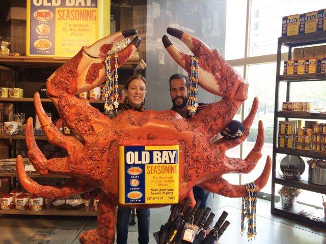 Pedro y Abby disfrutando de Baltimore