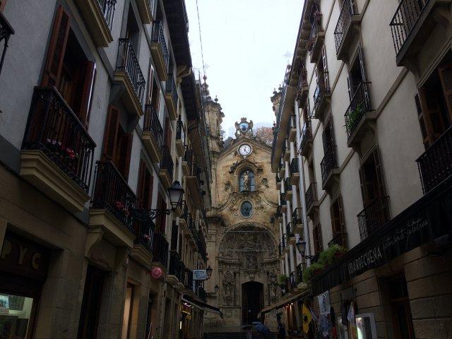 Basílica de Santa María del Coro en San Sebastián