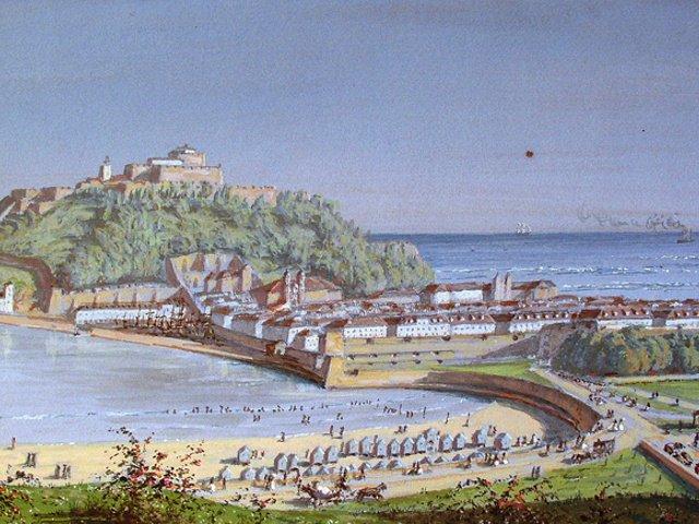 Antiguas murallas de San Sebastián