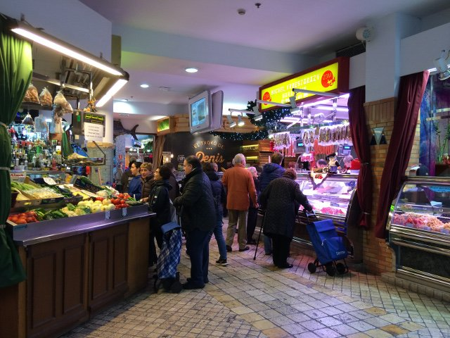 Mercado de San Martín en San Sebastián