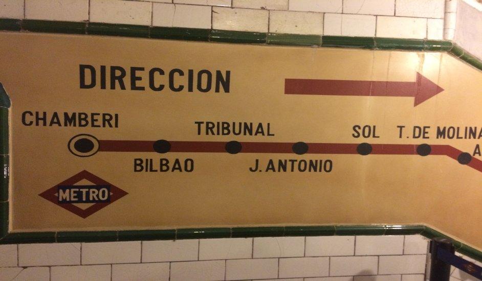 Museo Andén Cero: Una estación de metro fantasma en pleno Chamberí