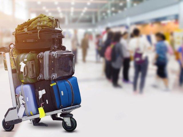 Mucho equipaje es una razón para ir en coche al aeropuerto