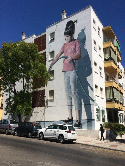 Murales en Estepona