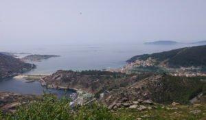 Mirador de Ézaro en la Costa da Morte Galicia