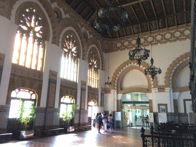 Estación de trenes de Toledo de estilo mudéjar