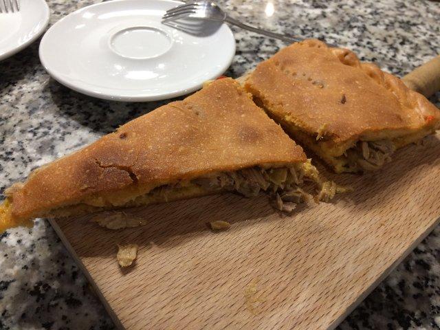 La empanada es otra comida típica de Galicia