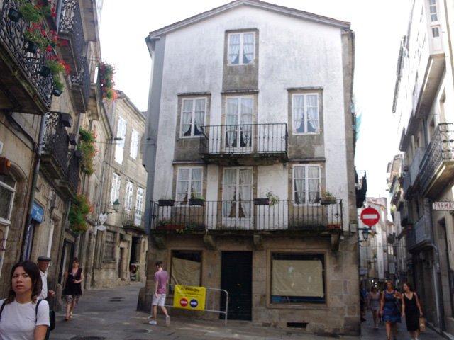 Centro Histórico de Santiago de Compostela en Galicia