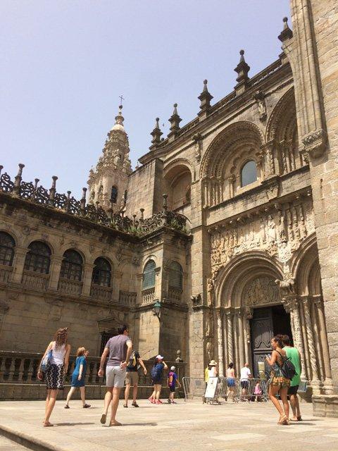 Praza da Quintana en Santiago de Compostela