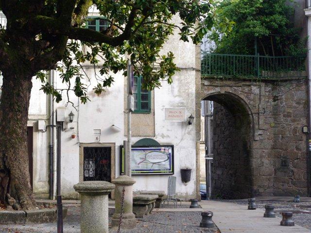 Arco Mazarelos en Santiago de Compostela Galicia