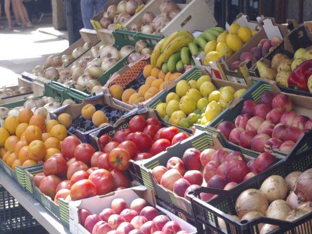 Visitando el Mercado Municipal de Santiago de Compostela