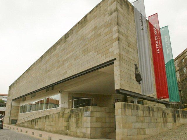 CGAC en Santiago de Compostela Galicia