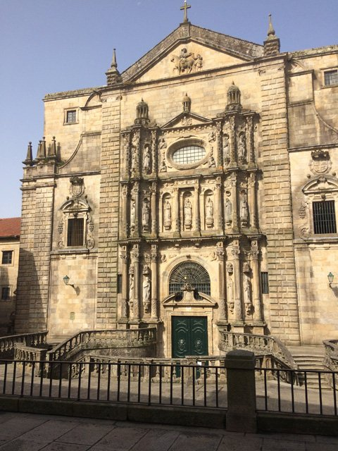 Monasterio de San Martino Pinario en Santiago de Compostela Galicia