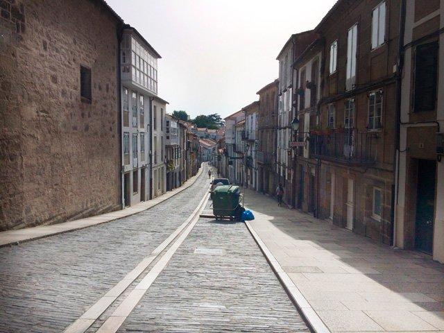 Despedida de Santiago de Compostela Galicia