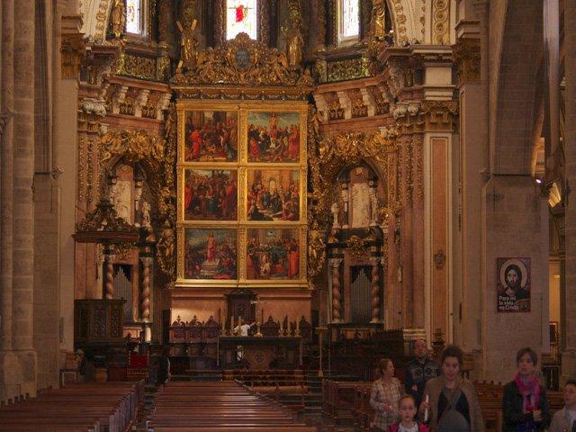 Vistando la Catedral de Valencia