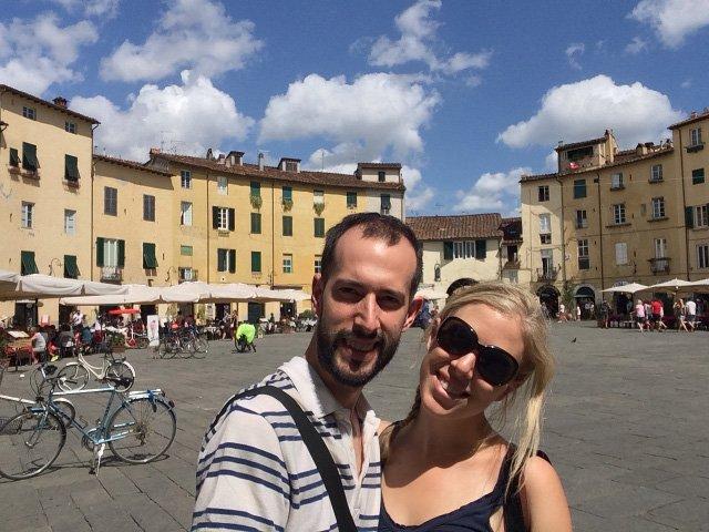 Visitando Lucca en la Toscana