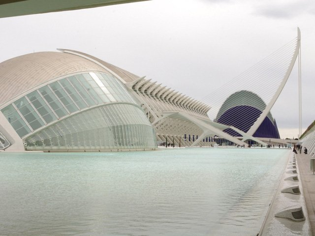 Ciudad Artes y Ciencias de Valencia
