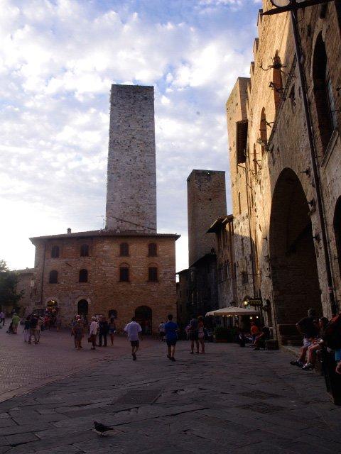 Rascacielos de la Edad Media San Gimignano