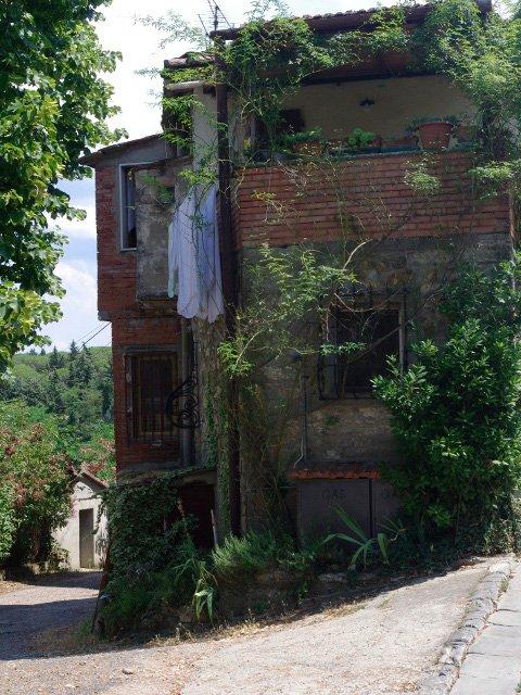El pueblo de Panzano en Chianti