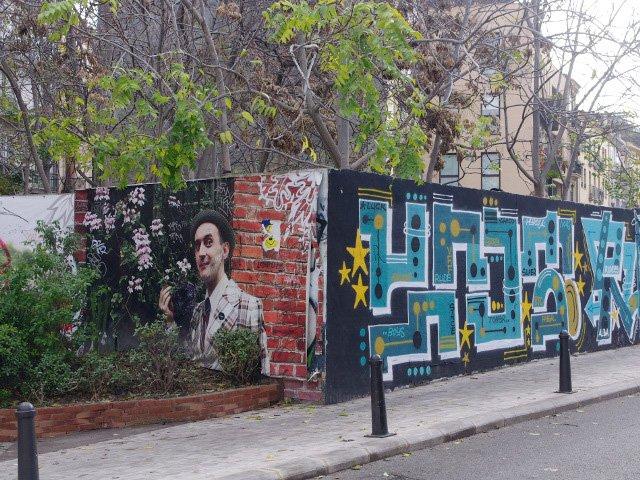 Murales que muestran el arte callejero de Valencia