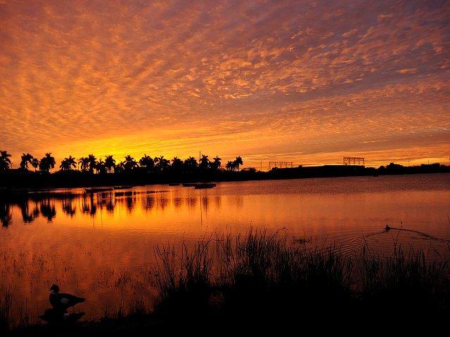 Atardecer en Dania Beach, Florida