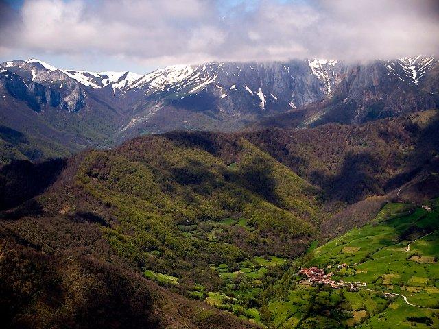Impresionante naturaleza en Cantabria
