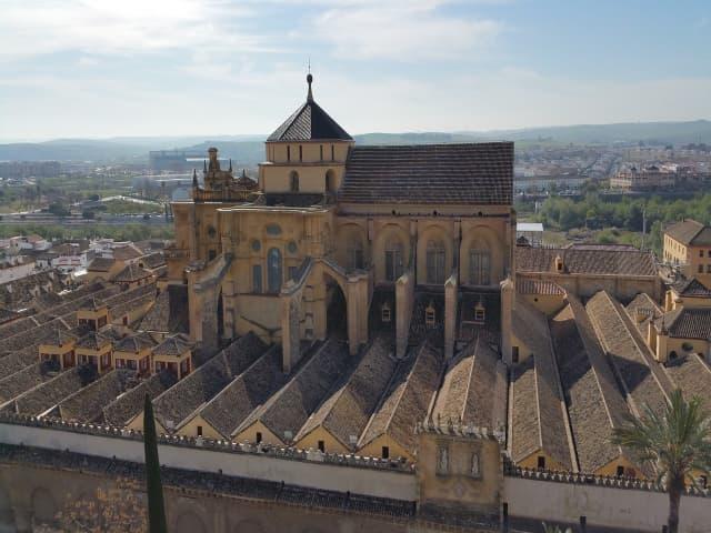 Mezquita de Córdoba vista desde arriba