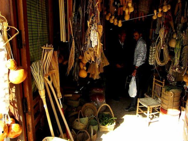 Tienda de artesanía en Chinchón