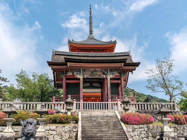 Uno de los lugares más increíbles de Japón es el Templo Kiyomizu