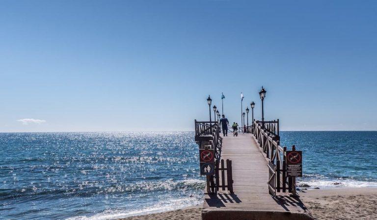 Embarcadero de Marbella en la Costa del Sol