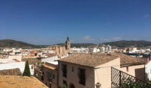 Panorámica general donde se aprecia lo que ver en Sagunto, Valencia