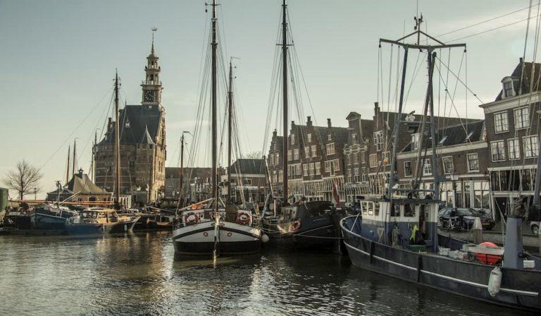 Estampa de los Países Bajos donde alquilar un coche es ideal