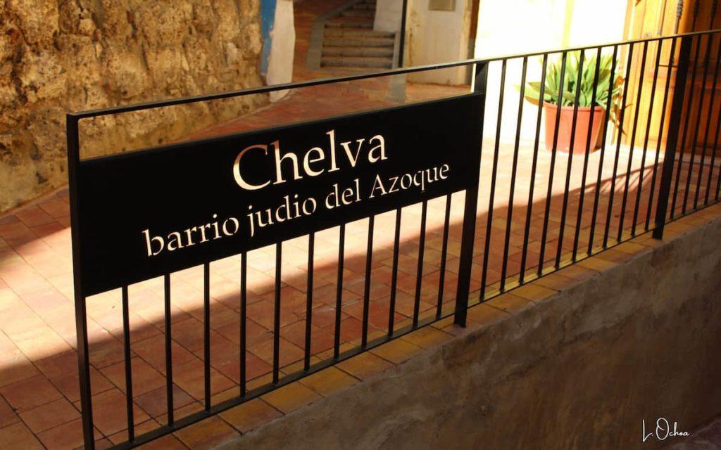 Barrio Judío del Azoque en Chelva