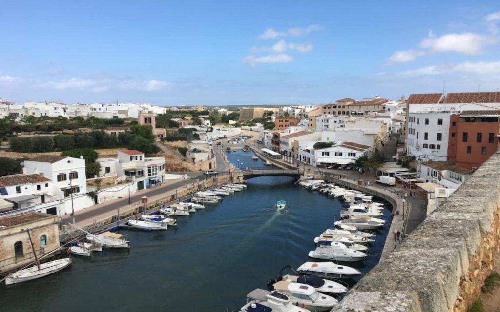 Ciudatella en Menorca