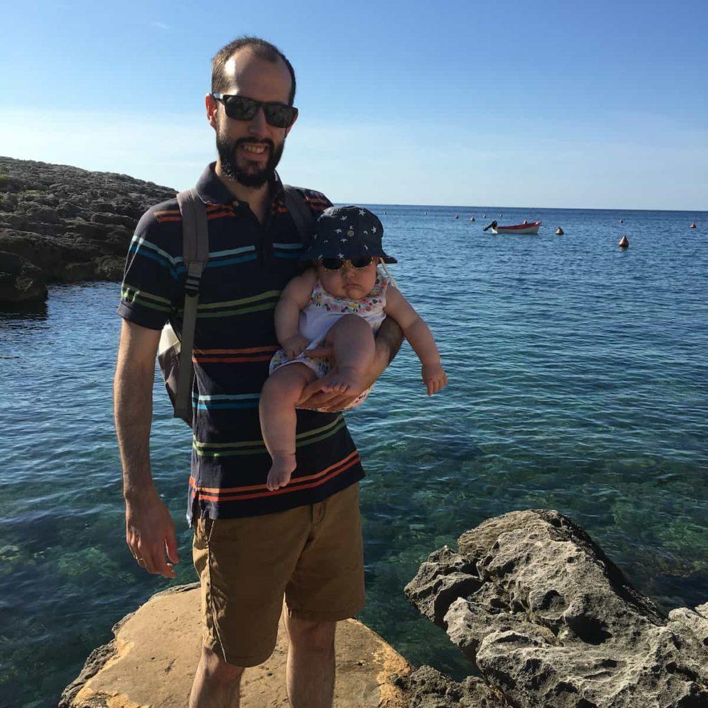 Pedro y Paula en Menorca
