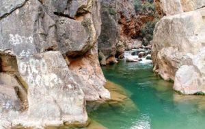 La playeta, icono de la Ruta del Agua en Chelva